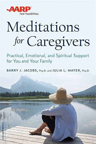 AARP Meditations Caregivers Practical Emotional product image