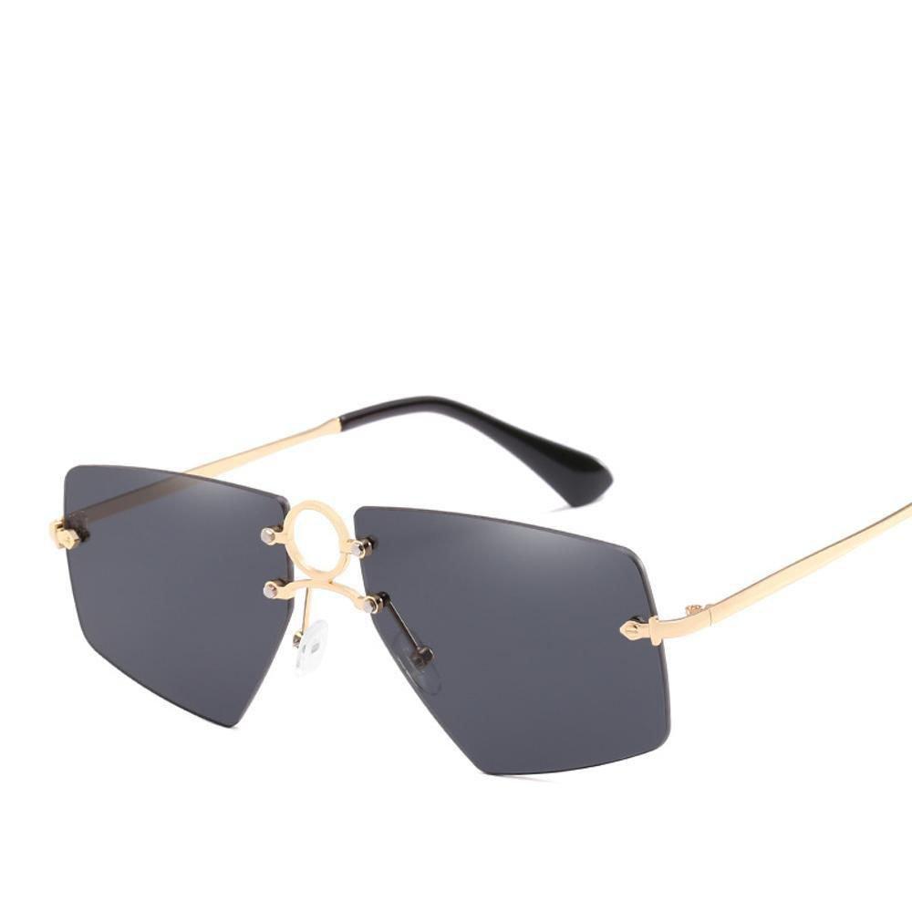 Aoligei Nariz Las Gafas de Sol Creativas círculo Decorativo ...