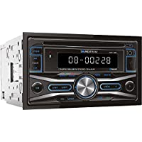 Soundstream VCD-32B Double-DIN In-Dash CD/MP3/USB with Bluetooth Car Stereo