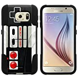 MINITURTLE Case Compatible w/ Samsung Galaxy S6 Case Hard Shell Cover w/ Stand Soft Silicone Game Controller Review