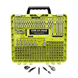 RYOBI - A961502QP - Steel Driving Bit Set 1 in, 2 in. and 3-1/2 in. - 150 Piece