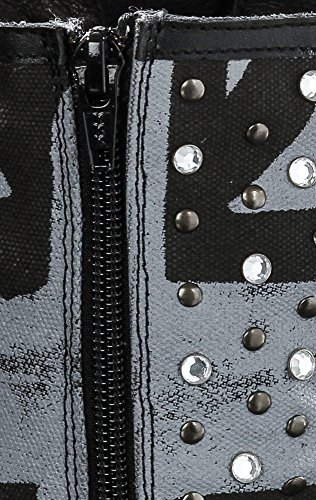 Jeans Bootie Shoes schwarz Pepe Damen 40 xU1Z804wqw