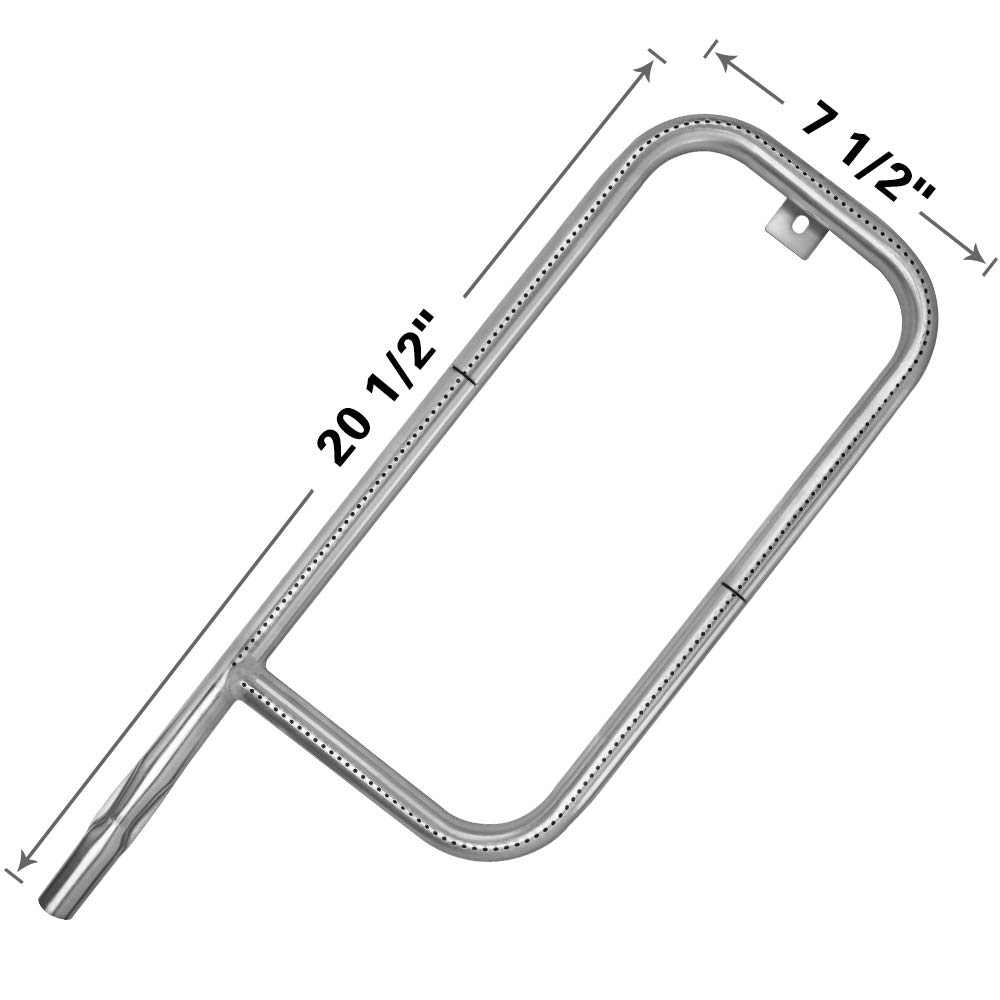 SHINESTAR 69956 60041 Burner Replacement for Weber Q2000 Q2200 Q200 Q220, Stainless Steel Replacement Burner Tube 20-1/2 inch 41862 for Weber q 2200 q 2000 q 200 q 220 Gas Grill Parts (SR061) by SHINESTAR