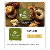 Panera Bread Bagels Gift Cards - E-mail Delivery