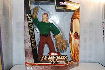 Marvel Legends SANDMAN and CYCLOPS Signature Series Action Figure New In Box