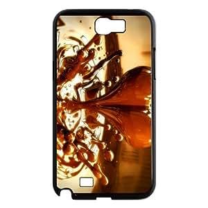 Custom Heart Chocolate Design Samsung Galaxy Note 2 Plastic Case Cover by icecream design