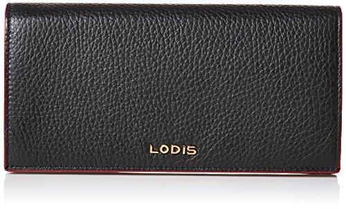 Lodis Kate Kia Wallet, Black, One Size (Lodis Lined Wallet)