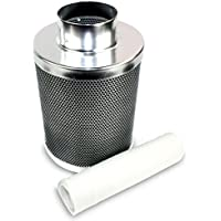 """VenTech 4"""" 6"""" 8"""" Hydroponic Carbon Charcoal Air Scrubber Oder Control Filter – Choose Your Model"""