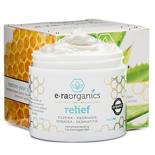 Era Organics Psoriasis & Eczema Cream 120ml Advanced Healing Non-Greasy...