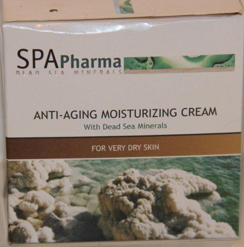 Spa Pharma Dead Sea Minerals Anti-aging Moisturizing Cream 50 Ml (Dead Sea Minerals Cosmetics)