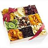 #5: Dried Fruit & Trail Mix Snack Gift Tray