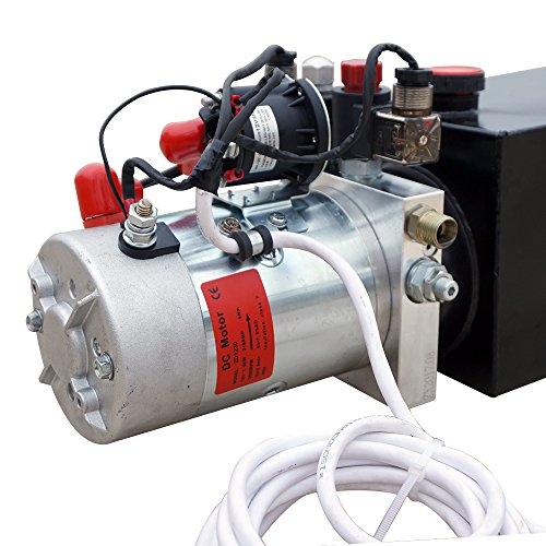 High Quality Double Acting Hydraulic Pump12V Dump Trailer- 6 Quart 3200 PSI Max. by Fisters (Image #2)