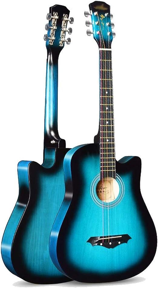 YJFENG Principiante Guitarra Acústica Cuerda De Alambre Panel De ...