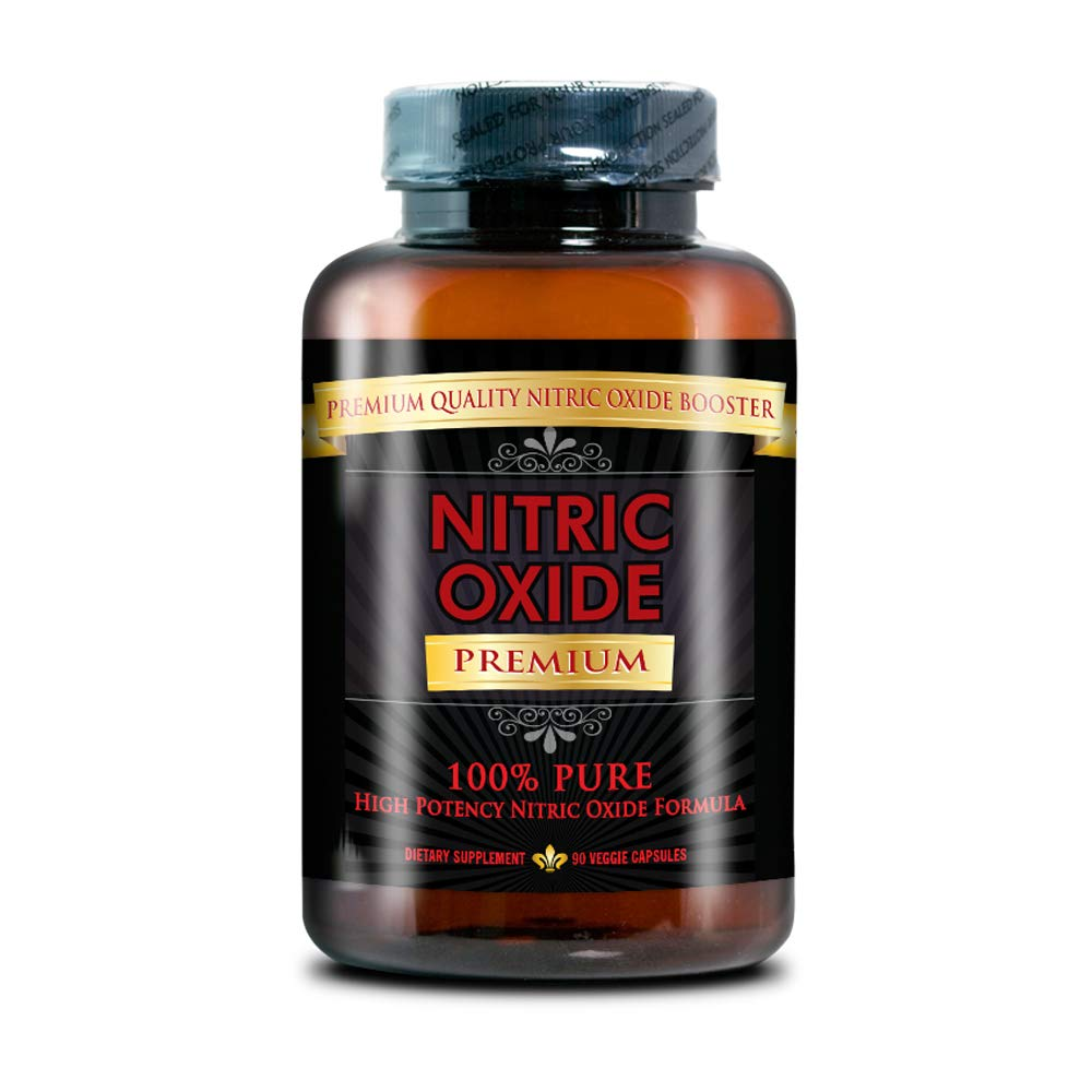 NITRIC OXIDE PREMIUM - #1 Nitric Oxide Supplement on market - with L-Arginine (AAKG) and L-Citrulline - 100% Money Back Guarantee - 1 Month Supply