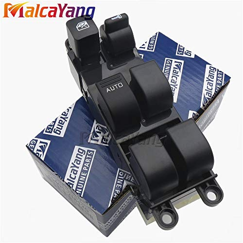 Fincos 25401-2M120 254012M120 Front Left Side Power Window Lifter Switch for Nissan Navara Bluebird Sunny Primera Pickup Truck