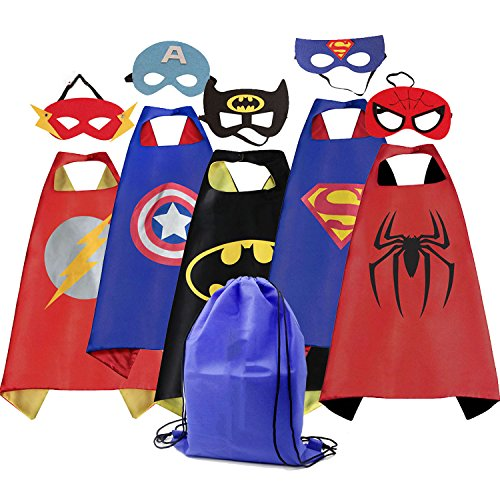 ROMASA Cartoon Capes for Kids with