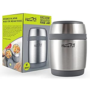 Home Puff Double Wall Vacuum Insulated Stainless Steel Food Jar
