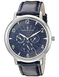 Christian Van Sant Men's CV3510 Analog Display Quartz Blue Watch