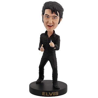 Royal Bobbles Elvis Presley '68 Comeback Special Bobblehead: Toys & Games
