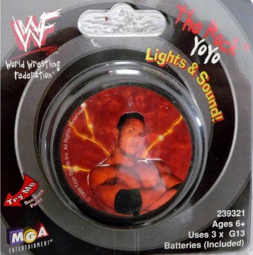 the ROCK YOYO - WWE WWF Wrestling Yo-Yo with Lights and Sound by MGA Entertainment by MGA Entertainment