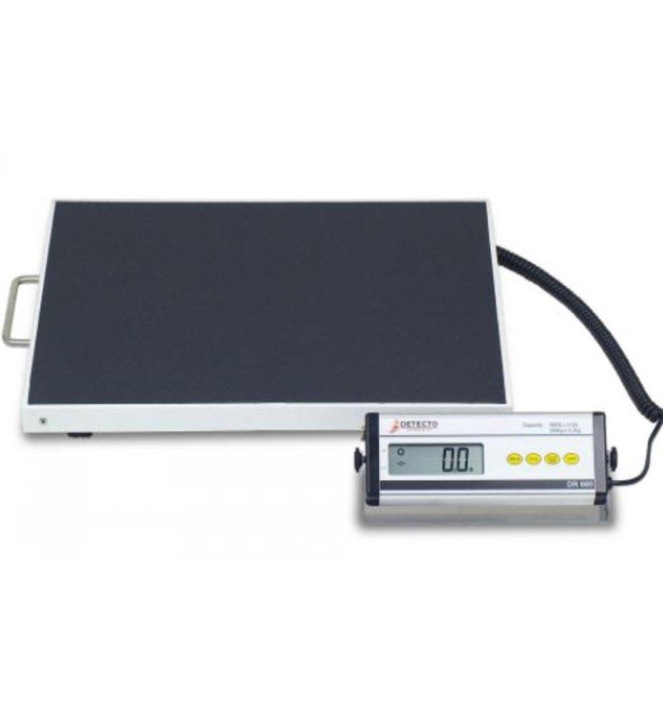 Taylor Digital 440lb Capacity Digital Bathroom Scale Clear Mirrored Accents Glass