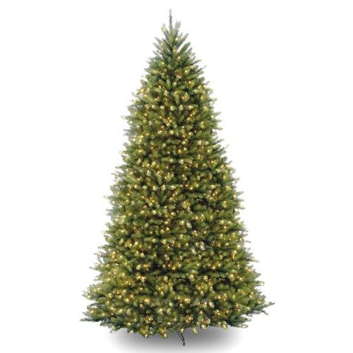 National Tree 10 Foot Dunhill Fir Tree, 10' (10 Ft Dunhill Fir Artificial Christmas Tree)