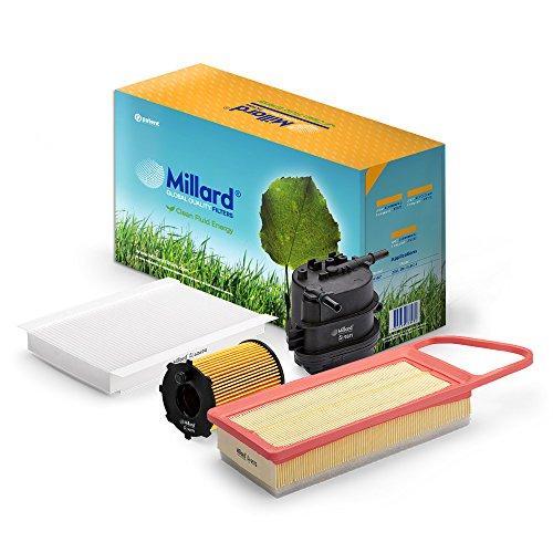 Millard Filters MZ-4127 - Kit de filtros para C2 y C3 o 1007 y 307