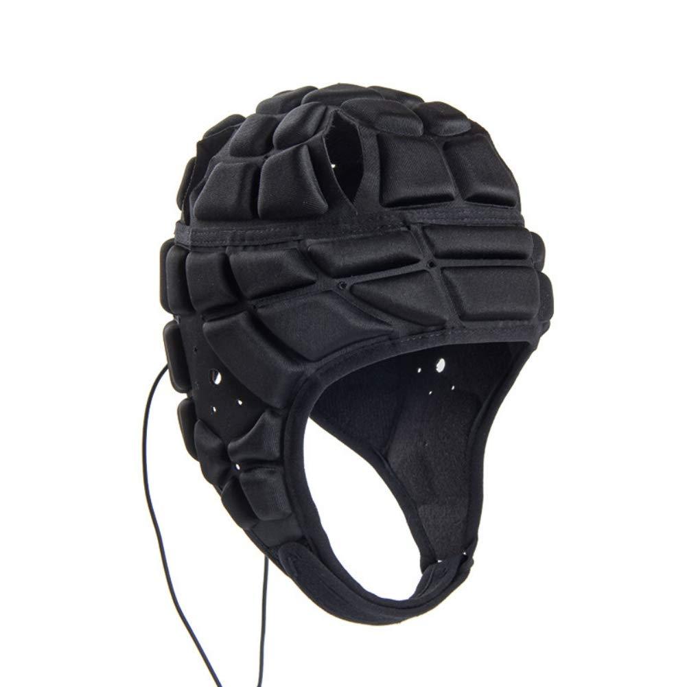 Handfly ゴールキーパー ヘルメット ラガー ローラー スケートヘルメット 厚みのある EVA 衝突防止ヘルメット サポート サッカー保護ギア