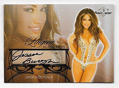 Jesica Burciaga 2013 Benchwarmer Lingerie autograph #3