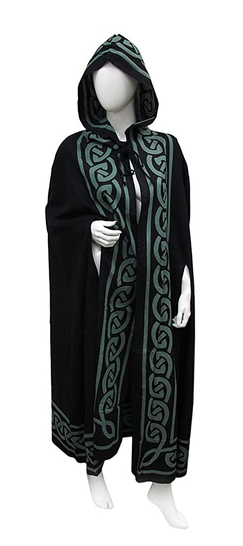 9953bfe085 Amazon.com  Zeckos Lightweight Cotton Hooded Ritual Cloak  Clothing