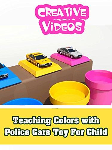 Supre Colour - Teaching Colors with Police Cars Toy For Child