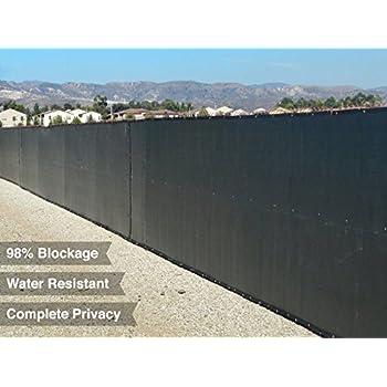 Privacy Screen & Windscreen Fence W/ Brass Grommets ...