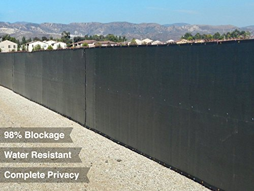 Privacy Screen & Windscreen Fence W/ Brass Grommets 5.8'x50'