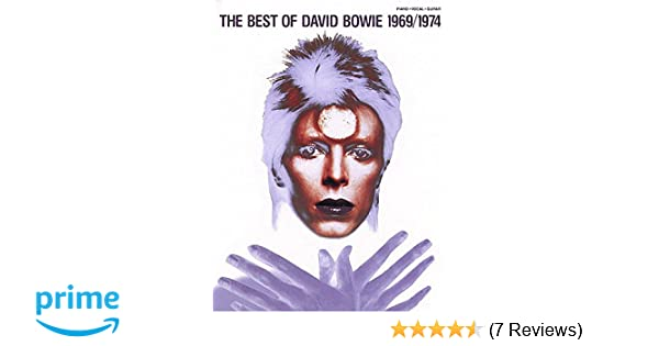 Amazon The Best Of David Bowie 19691974 Piano Vocal