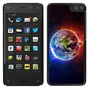 TopCaseStore / la caja del caucho duro de la cubierta de protección de la piel - Space Planet Galaxy Stars 63 - Amazon Fire Phone