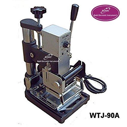 Boshi Electronic Instrument WTJ-90A PVC Card Album Hot foil stamping machine Embossing machine(6X9cm) by Baoshishan
