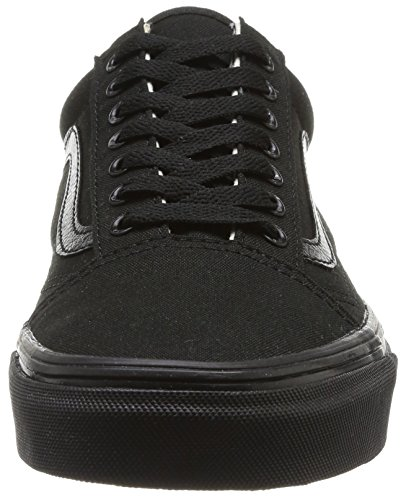 Schwarz Negro Old Skool U Unisex Black Adulto Vans Black Zapatillas xY4Ta0gq6w
