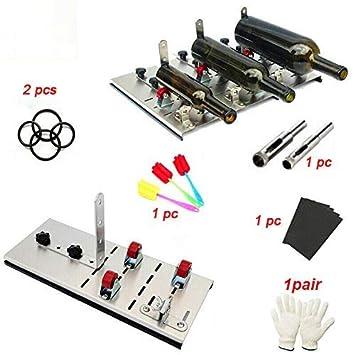 Kit de cortador de botellas, práctico cortador de cristal ...