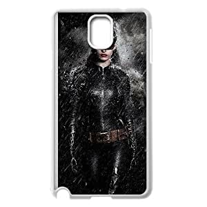 Samsung Galaxy Note 3 Cell Phone Case White Catwoman gtj