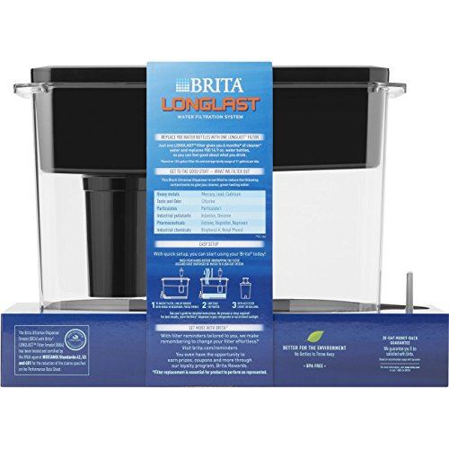 Brita Extra Cup Water Dispenser with 1 Longlast Reduces Free – Ultramax,