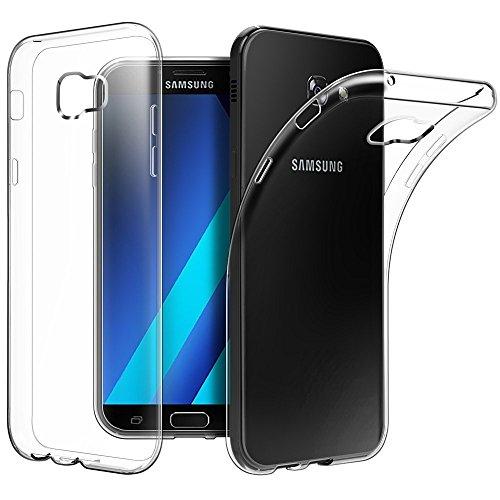 ZOFEEL Funda para Samsung A5 2017 Ligera como el Aire, Carcasa Protectora Resistente a los arañazos de TPU Transparente...