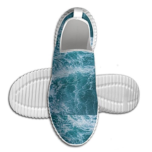 Mkajkkok The Blue Water Looks Dizzy For A Long Time Lightweight Fitness Walking Shoes. -