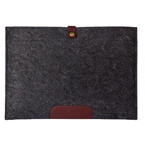 ad4ff21ef554 Amazon.com: Business simple Woolen Envelope Case laptop bag felt bag ...