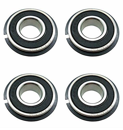 Four (4) Go Kart/Lawnmower Bearings w/Snap Ring 99502H NR 5/8 x 1-3/8 x .433