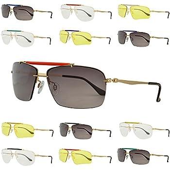 Amazon.com: Thomas Rhodes Aviator Sunglasses TR1000 Shiny