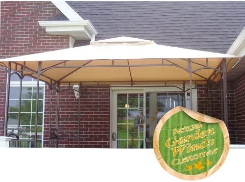 Garden Winds LCM991B Curved Corner Panel Gazebo Replacement Canopy
