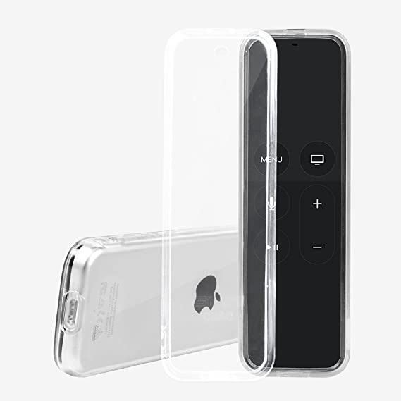 2018 New Soft Clear Tpu Protective Case Sleeve Cover Fit For Apple Tv 4th Remote Control Cover Household Merchandises Home & Garden
