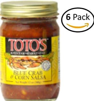 Totos Original Crab and Corn Salsa