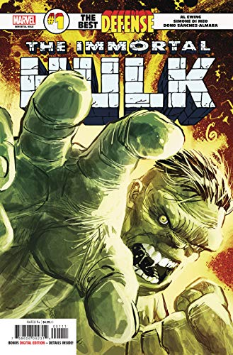 Immortal Hulk Best Defense #1 Defenders (Marvel, 2019) NM