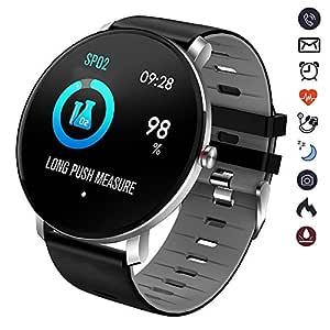 XH Reloj Inteligente Bluetooth Monitor de Pulso Cardiaco ...